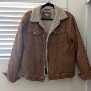 John Galt fur corduroy jacket